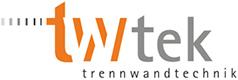 twtek Trennwandtechnik Logo
